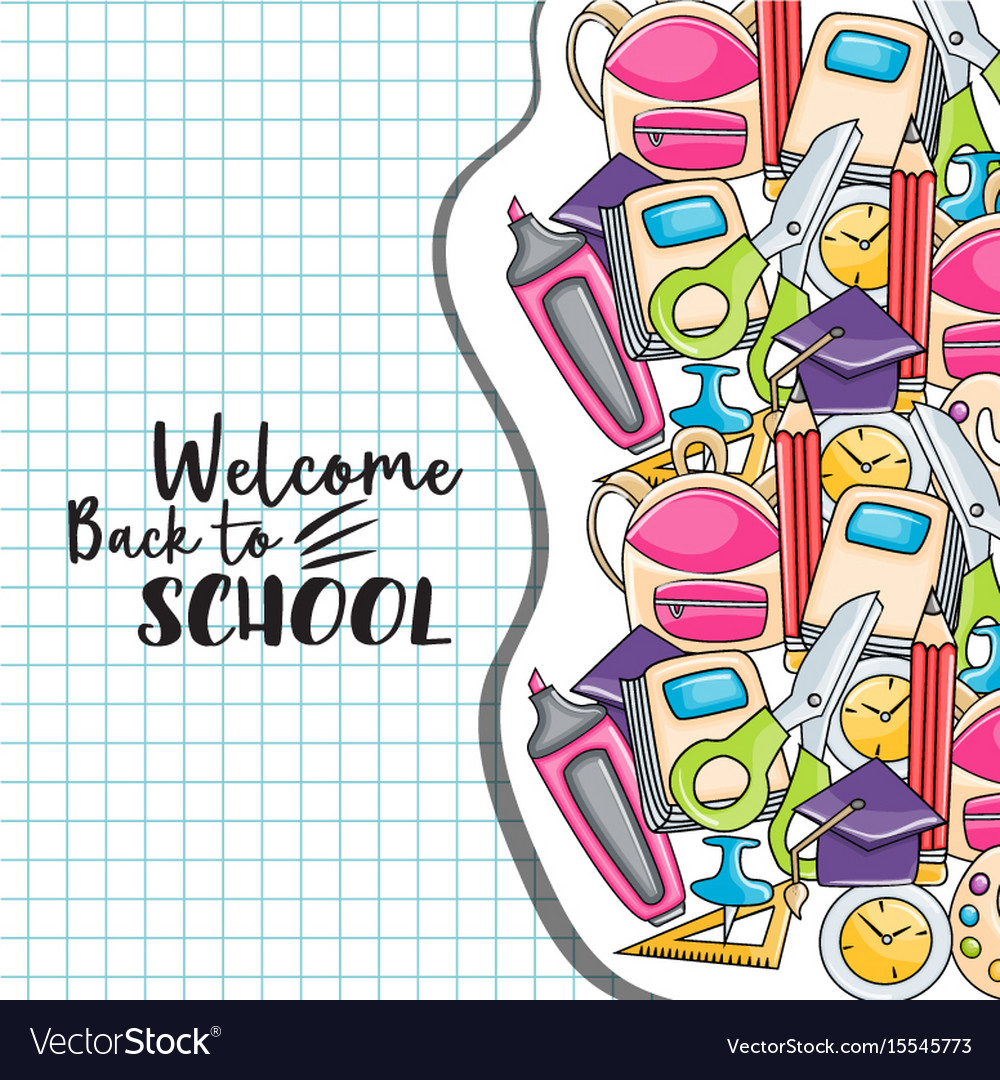 Welcome back clipart images royalty free Welcome back to school doodle clip art royalty free