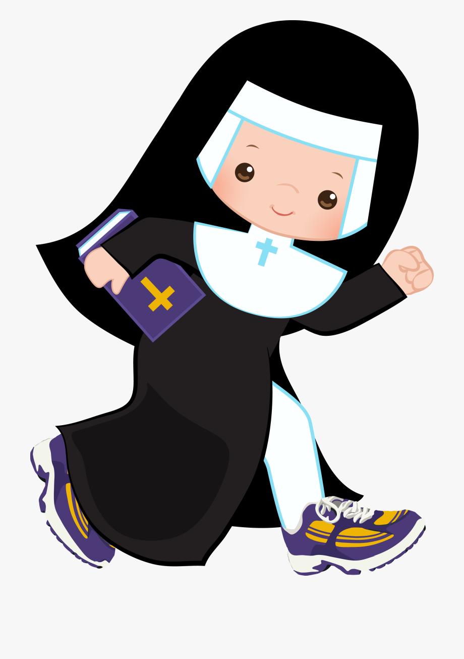 Welcome clipart with funny nuns clip art freeuse library Racewire Nun K Ⓒ - Running Nun Clip Art #155403 - Free ... clip art freeuse library