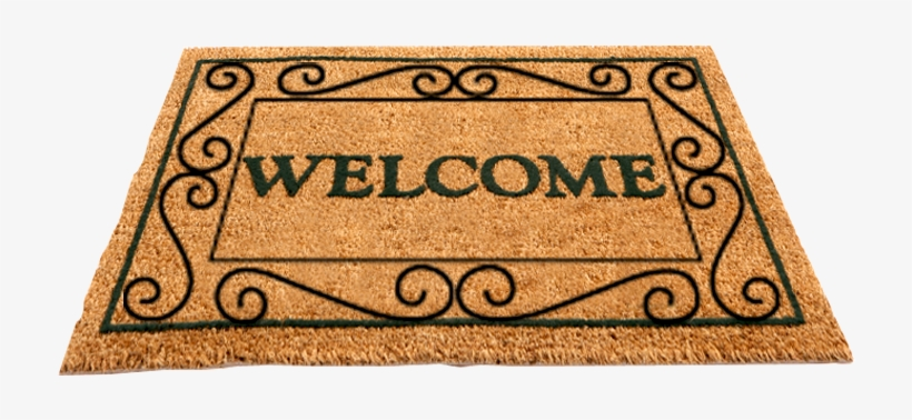Welcome doormat clipart jpg black and white library Rug Clip Door Mat - Welcome Mat Clipart Transparent PNG ... jpg black and white library