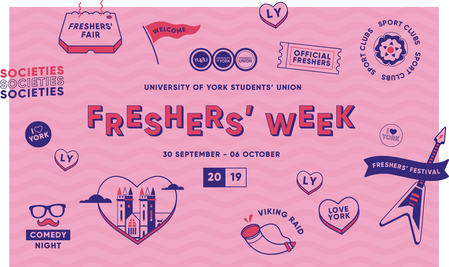 Welcome fair fans clipart clipart download Official] University of York Freshers\' Week 2019 | YUSU clipart download