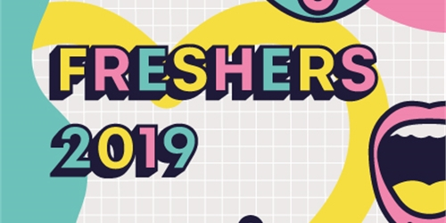 Welcome fair fans clipart image royalty free Freshers 2019 image royalty free