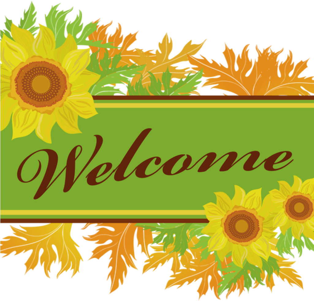 Welcome fall church pictures clipart png black and white library HD Welcome To Church Clipart - Fall Welcome Clipart ... png black and white library