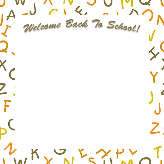 Welcome frames clipart clip black and white stock Welcome Borders - Free Welcome Border Clip Art clip black and white stock