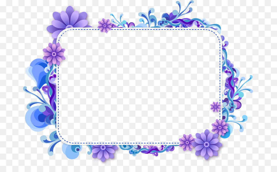 Welcome frames clipart svg royalty free stock Blue Flower Borders And Frames clipart - Blue, Purple ... svg royalty free stock
