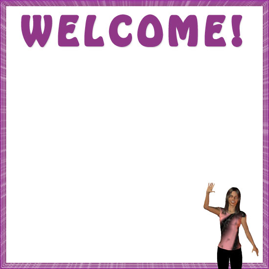 Welcome frames clipart vector free library Welcome Borders - Free Welcome Border Clip Art vector free library
