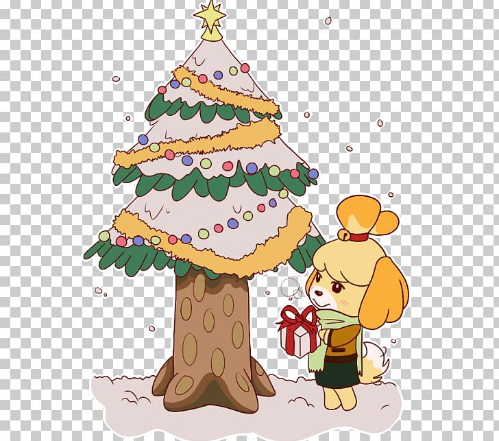 Welcome free clipart tree picture freeuse stock Greeting & Note Cards Animal Crossing: New Leaf Christmas ... picture freeuse stock