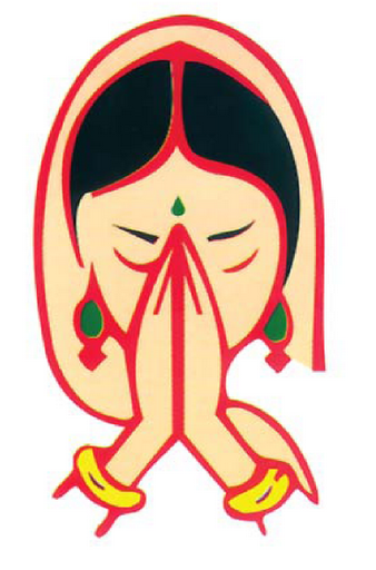 Welcome girl clipart png clip art download Namaskar Hand PNG Transparent Namaskar Hand.PNG Images ... clip art download