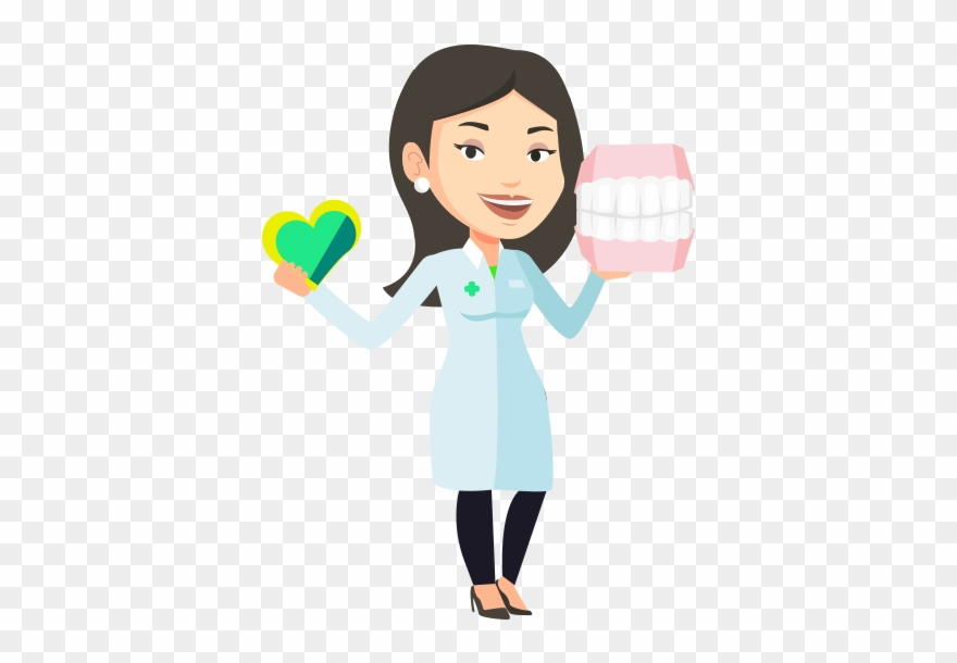 Welcome girl clipart png png library stock New Patients & Children Welcome - Clipart Woman Dentist ... png library stock