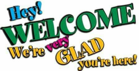 Welcome glad you are here clipart black and white banner free download Hey welcome we\'re very glad you\'re here | facebook post in ... banner free download