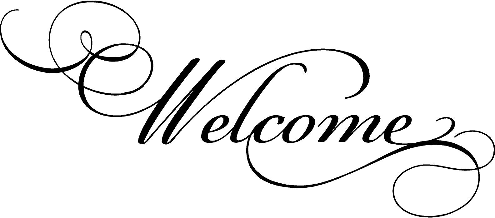 Welcome to our church clipart