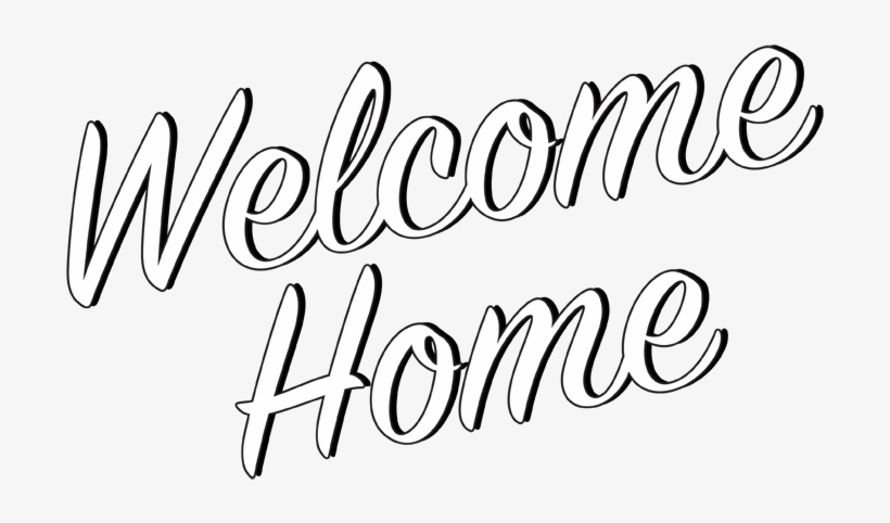 Welcome home sign clipart png banner transparent Welcome To Your New Home Clipart - Welcome Home Transparent ... banner transparent