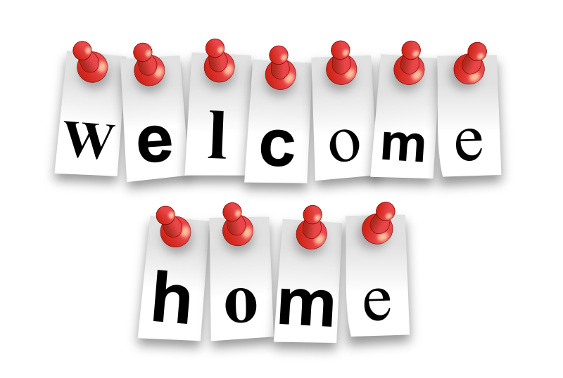 Welcome home sign clipart png picture download 37+ Welcome Home Clipart | ClipartLook picture download