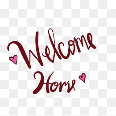 Welcome home sign clipart png png freeuse library Welcome Home Png - DLPNG.com png freeuse library