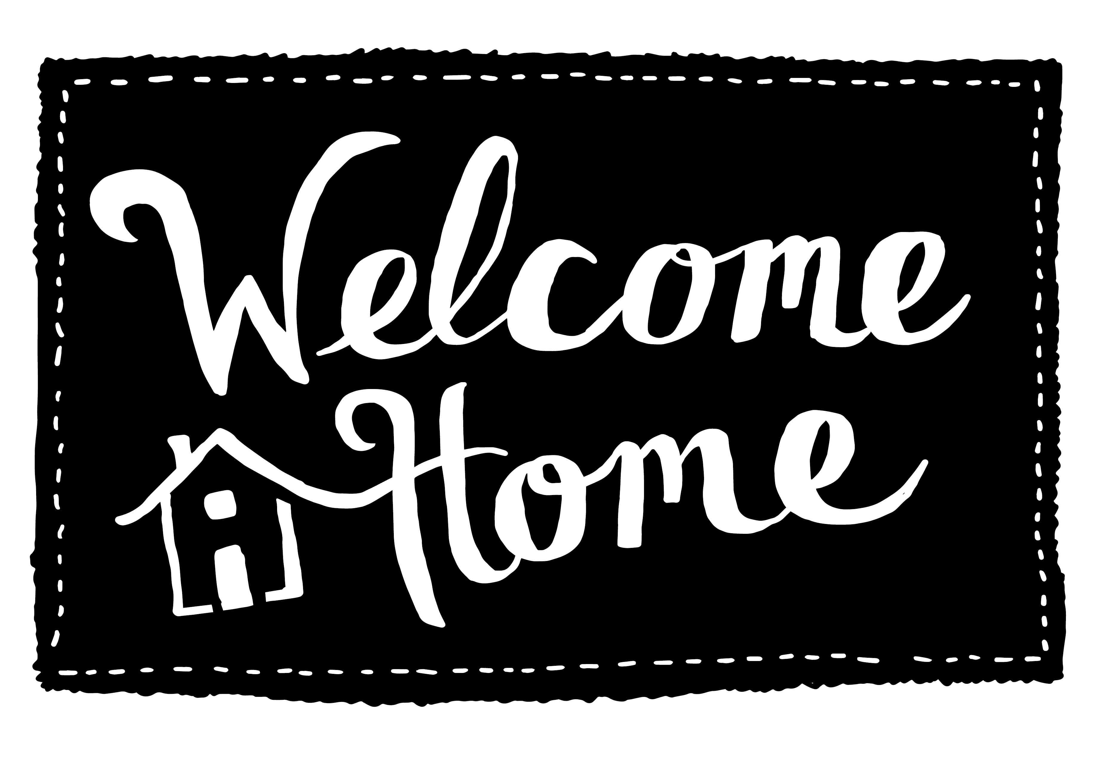 Welcome home sign clipart png banner library stock Welcome Home - New Orleans Area Habitat For Humanity banner library stock