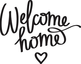 Welcome home sign clipart png picture download Welcome Home Clipart | Free download best Welcome Home ... picture download