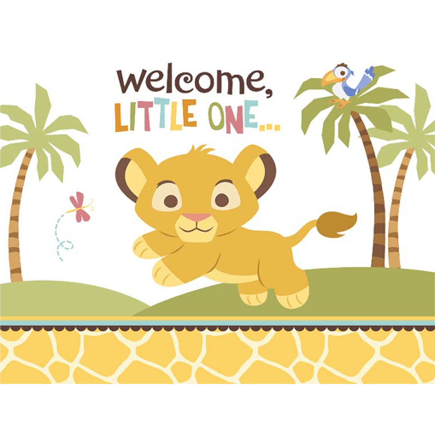 Welcome little one clipart vector free library Lion King Baby Shower Clipart | Baby Mullins | Lion king ... vector free library