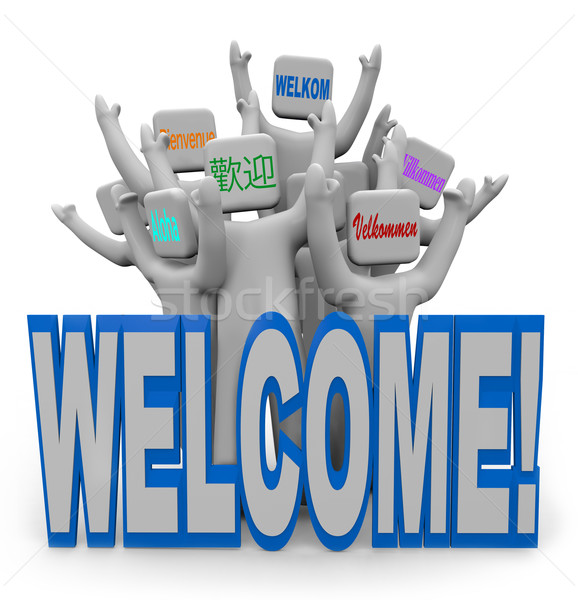 Welcome new employees clipart svg Download welcome new employee quotes clipart World language ... svg