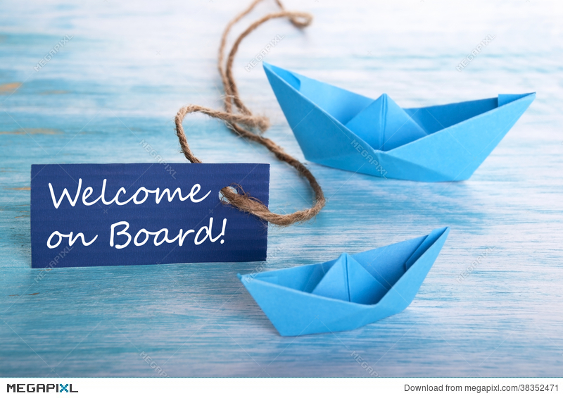 Welcome on board clipart png royalty free download Welcome On Board Stock Photo 38352471 - Megapixl png royalty free download