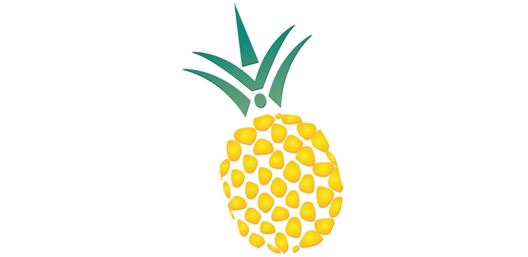 Welcome pineapple clipart banner free stock Hospitality Pineapple   Clipart Panda - Free Clipart Images banner free stock
