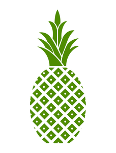 Welcome pineapple clipart clip freeuse stock Hospitality Pineapple Green Pineapple Cropped   Free Images ... clip freeuse stock