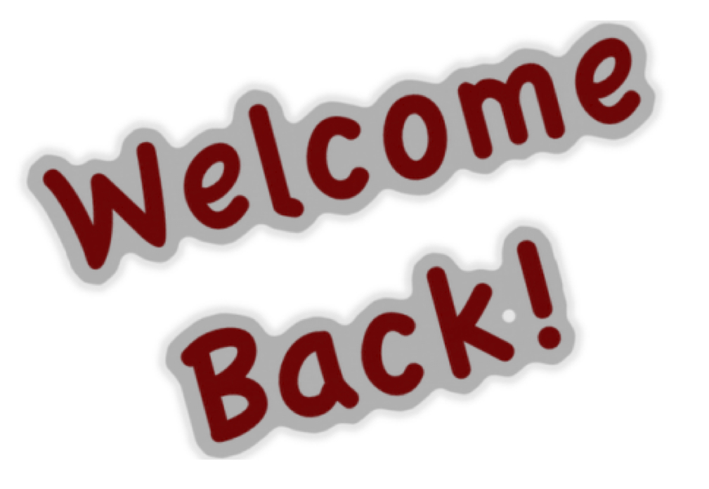 Welcome quote image clipart vector black and white 35 Very Best Welcome Back Pictures And Photos vector black and white