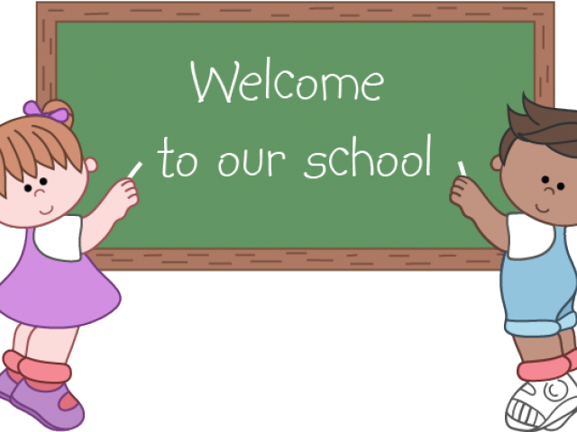 Welcome school clipart vector freeuse stock Welcome School Clipart 3 - 2100 X 559 | carwad.net vector freeuse stock