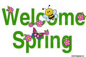 Welcome spring clipart banner transparent Welcome spring clipart 5 » Clipart Portal banner transparent