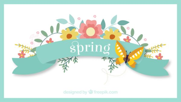 Welcome spring image clipart image free download Welcome Spring with Tea at the Ruggles House — User ... image free download