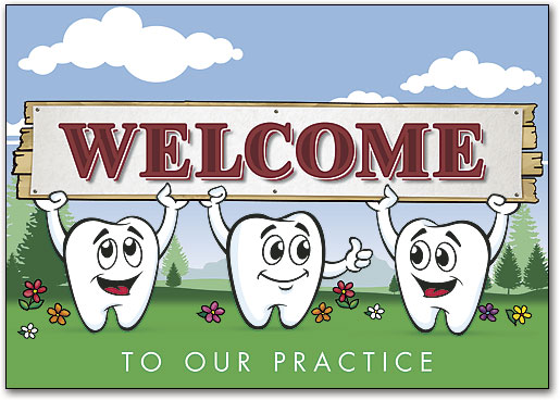 Welcome this is our dental team clipart picture Welcome New Patient with Dental Welcome Postcards ... picture