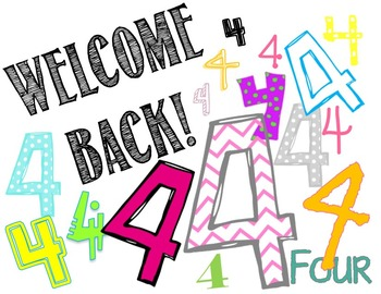 Welcome to 4th grade clipart clip art library 4th Grade Welcome Back Worksheets & Teaching Resources | TpT clip art library