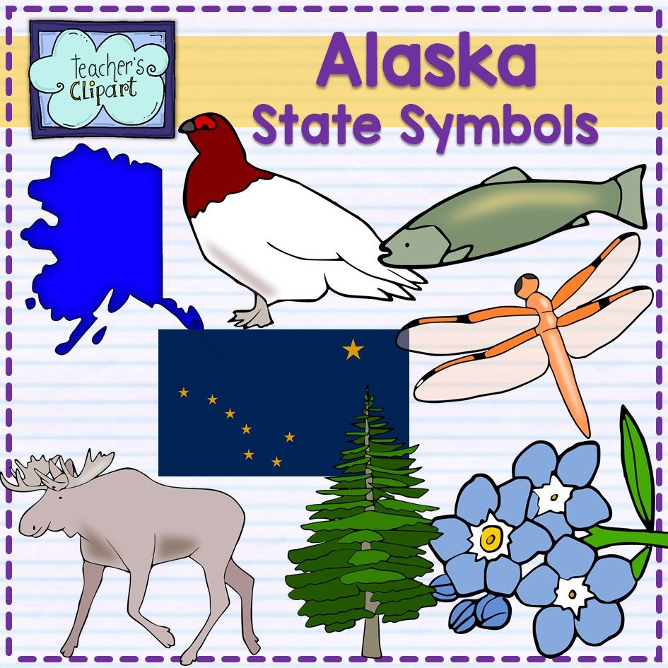 Welcome to alaska clipart vector library library Alaska state symbols clipart | Teacher´s clipart | Clip art ... vector library library