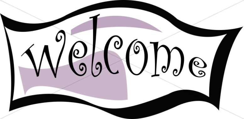 Welcome to church clipart picture Welcome Banner   Church Activity Clipart picture