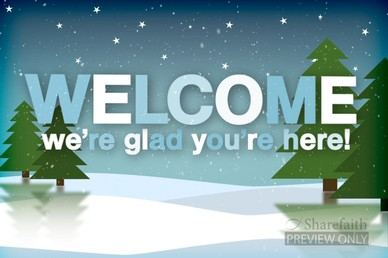 Welcome to church winter clipart png royalty free library Winter Mountains Welcome Video   Church Motion Graphics png royalty free library