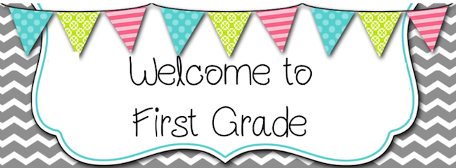 Welcome to first grade clipart vector freeuse 1st Grade - schoolweb vector freeuse