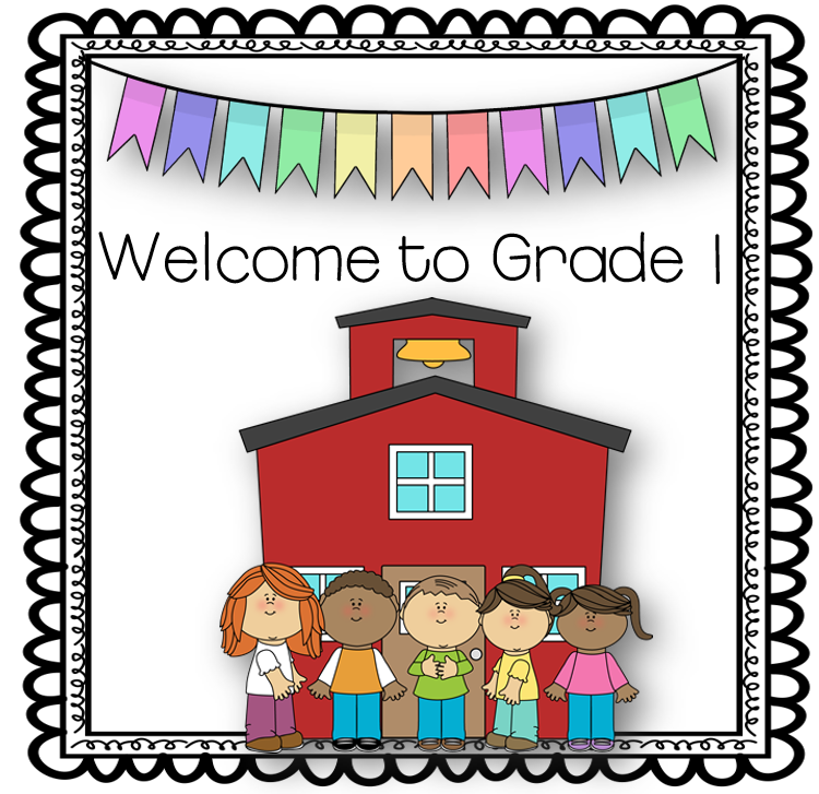 Welcome to grade 1 clipart image transparent stock Welcome to Grade 1 Booklet image transparent stock