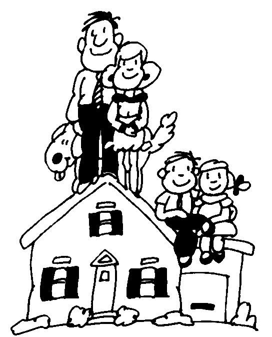 Welcome to our family clipart royalty free stock family – Homeschool Habitats royalty free stock