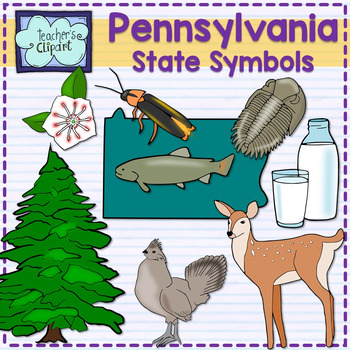 Welcome to pennsylvania clipart graphic black and white stock Pennsylvania state symbols clipart graphic black and white stock