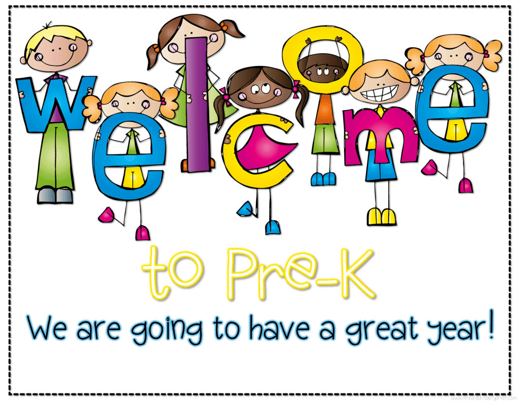 Hello and welcome to pre k clipart vector free Welcome Students Postcards vector free