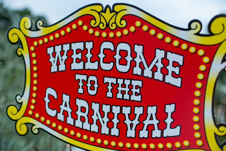 Welcome to the carnival clipart png free stock Welcome Signs - Carnival Party Theme {So Eventful ... png free stock