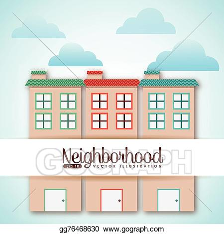 Welcome to the neighborhood clipart clipart EPS Vector - Welcome neighborhood. Stock Clipart ... clipart