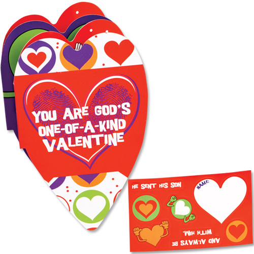 Welcome valentine retreat clipart picture free library Valentines Day Booklet & Stickers Christian Kids Ministry picture free library