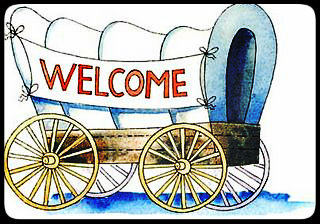 Welcome wagon clipart banner black and white download My New Co-Workers Aren\'t Friendly banner black and white download