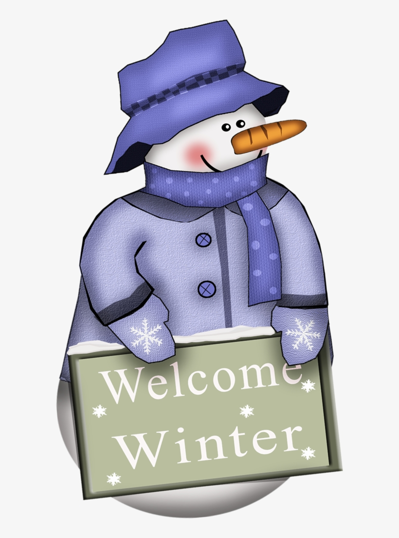 Welcome winter clipart jpg royalty free Welcome Winter - Winter Welcome Clipart - Free Transparent ... jpg royalty free