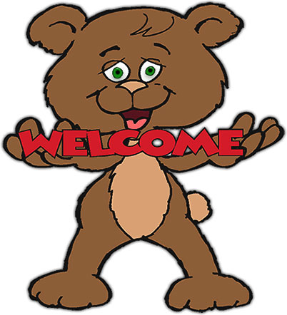 Welcomeing animal clipart png black and white library Free Welcome Cartoon Cliparts, Download Free Clip Art, Free ... png black and white library