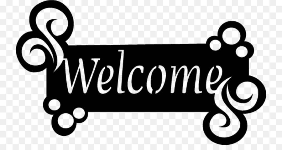 Welcoming all clipart graphic black and white download White Background clipart - Text, Font, Product, transparent ... graphic black and white download