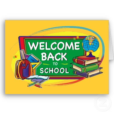 Welcomr back to school clipart clip art black and white stock Welcome back to school clipart clip art black and white stock