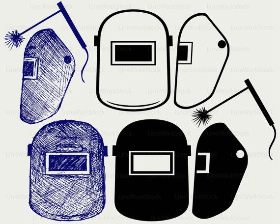 Weld helmet clipart clipart black and white Welding mask helmet svg/welding mask clipart/welding helmet ... clipart black and white