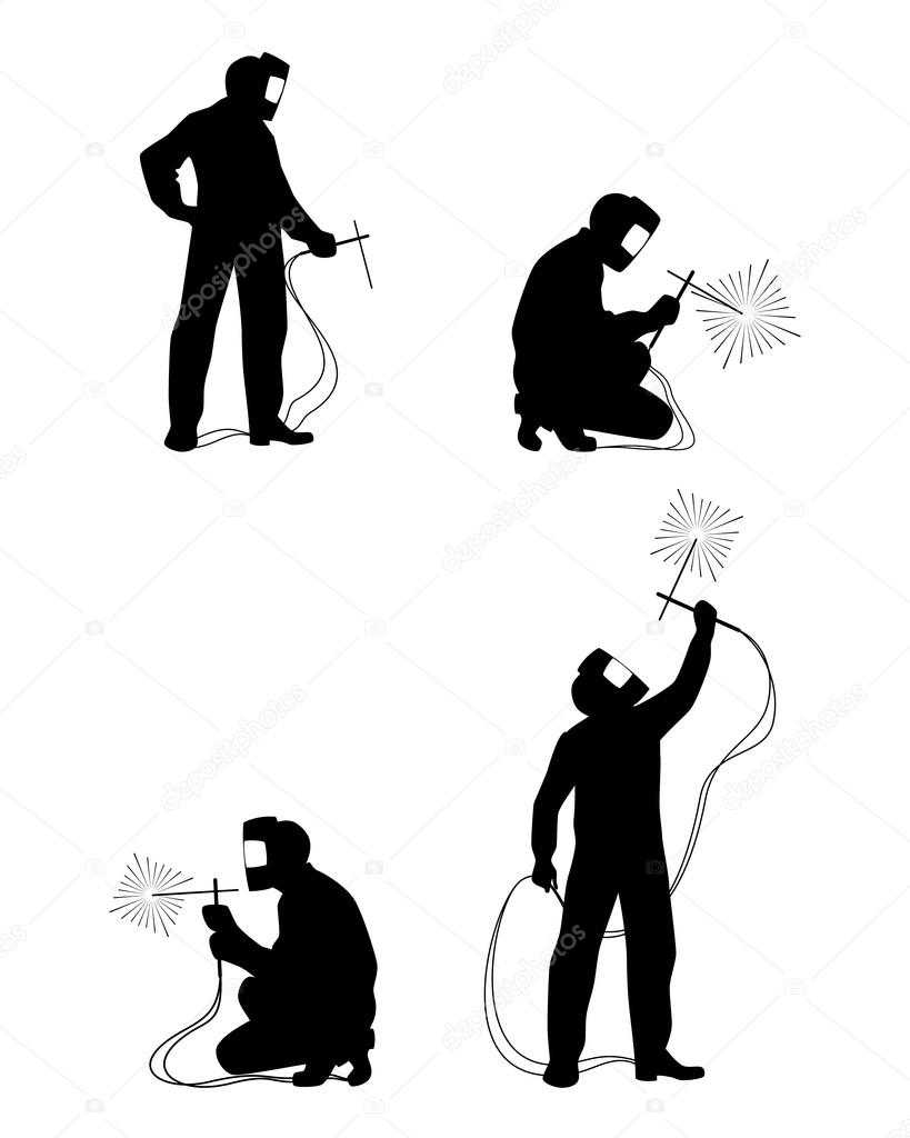 Welding silhouette clipart clip black and white download Illustration, Silhouette, Graphics, Art png clipart free ... clip black and white download