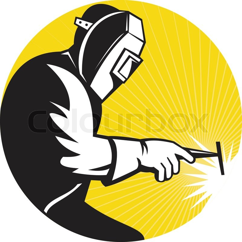 Welding silhouette clipart image black and white stock Welding Clipart | Free download best Welding Clipart on ... image black and white stock