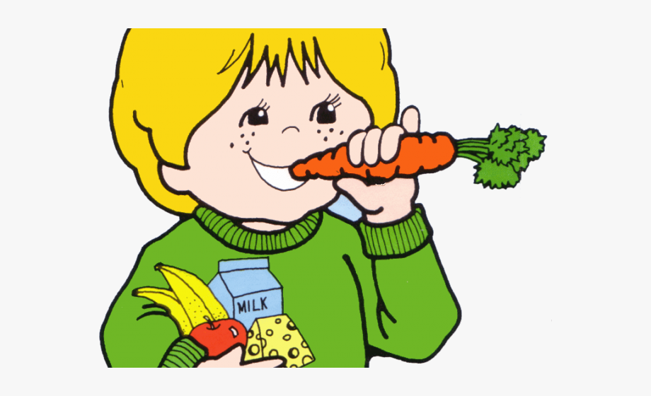 Well child clipart png download Healthy Food Clipart Eat Well - Eat Healthy Food Cartoon ... png download